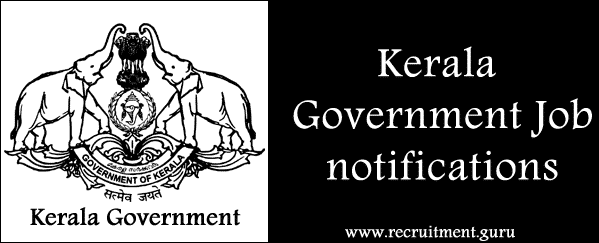 Government Jobs in Kerala   Apply online for Govt of Kerala Jobs