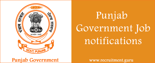 Govt Jobs in Punjab   Latest Punjab Govt Jobs Notifications   punjab.gov.in