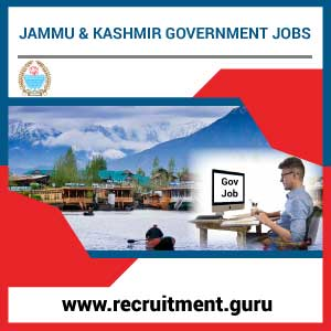 Govt Jobs in Jammu and Kashmir 2018   Latest Jammu Kashmir Government Job Notifications