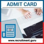 BSNL TTA Admit Card 2019 –  Bharat Sanchar Nigam Limited TTA Hall Ticket