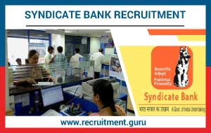 Syndicate Bank Recruitment 2018 19 | Apply Online for 500 PGDBF PO Vacancy @  syndicatebank.in