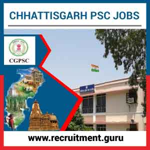 CGPSC Notification 2017 18 | Apply online for 325 Engineer, & other vacancies @ www.psc.cg.gov.in