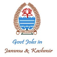 Govt Jobs in Jammu and Kashmir   Latest Jammu Kashmir Government Job Notifications