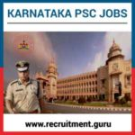 KPSC Recruitment 2019 for 889 Karnataka Asst Engineer & Jr Engineer Jobs