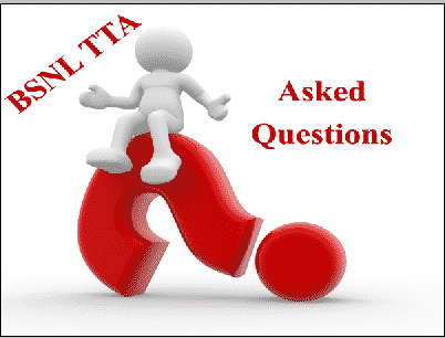 27th Sept BSNL TTA Asked Questions | BSNL JE 1st, 2nd Shifts Question Papers & Answers   www.externalbsnlexam.com