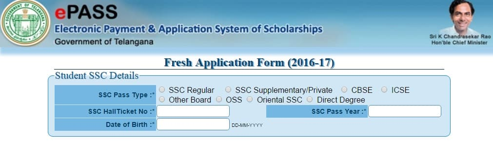 TS epass Online Application 2017 18   Apply Online @ telanganaepass.cgg.gov.in