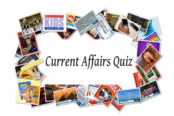 7th July 2017 Current Affairs GK Quiz Questions