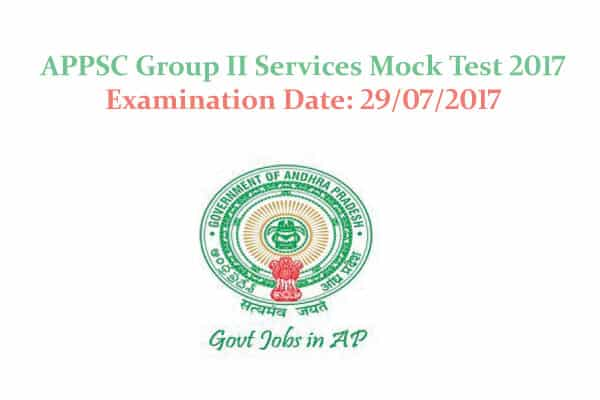 APPSC Practice and Preparation Tests   APPSC Group 2 Online Test in Telugu