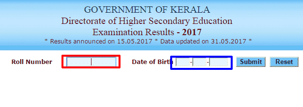 Kerala Plus one result 2017 Announced   Kerala First Year Result 2017