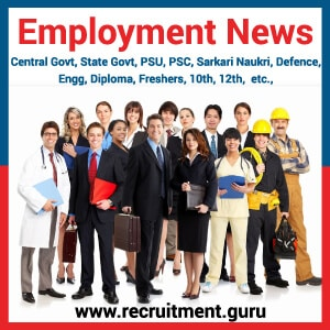 Today Employment News | Weekly Employment News 17th Nov to 24th Nov 2018