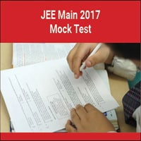 Joint Entrance Exam Mains Online Sample Test 2017   IIT JEE Mains Practice Test