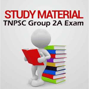TNPSC Group 2A Study Materials in English, Tamil @ www.tnpsc.gov.in