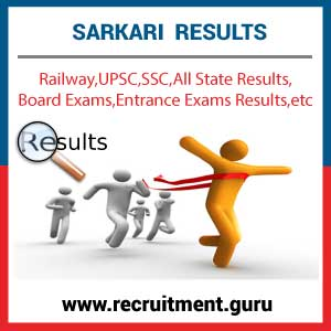 All India Results 2019 | Sarkari Rojgar Results | Latest Govt Exam
