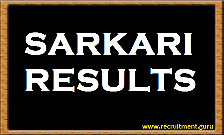 FCI Result   FCI Category 3, 4 Result and Merit List for all Zones & Regions   www.fci.gov.in