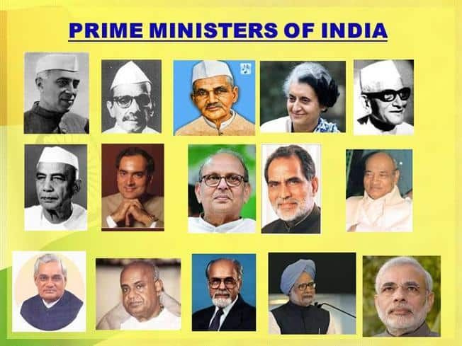 Prime Minister in India | List of Prime Ministers