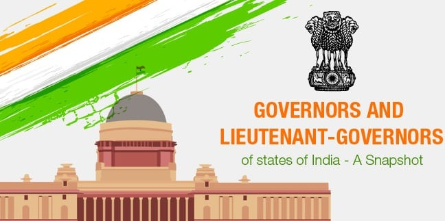 List of Governors of Indian States   Current Governors of States