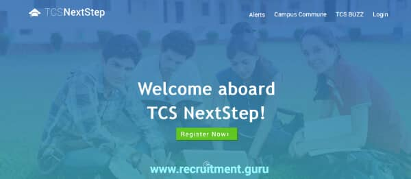 TCS Nextstep Portal | Campus Commune | nextstep tcs Registration, Login