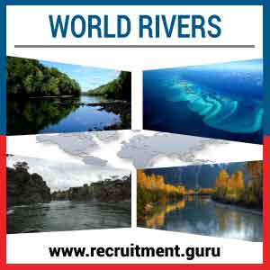 List of World Rivers   GK Awareness Rivers of the World