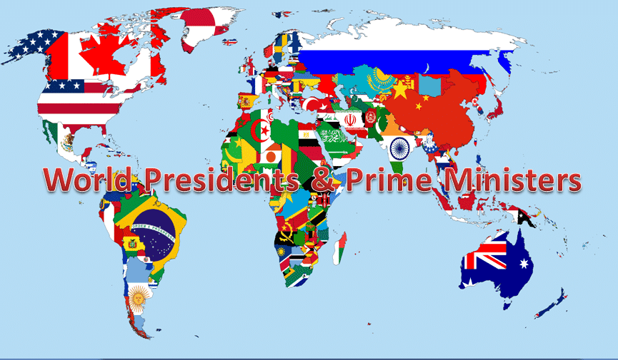 Presidents of the World | Prime Ministers of all Countries   General Knowledge