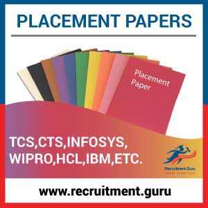 Placement Papers with Solutions | free Previous Year
