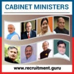 Cabinet Ministers of India – General Knowledge for RRB, SSC, PSC and UPSC Jobs